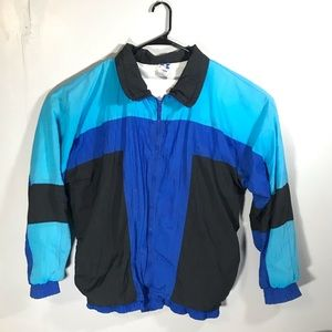 Vintage 90s Pro Spirit Full Zip Windbreaker